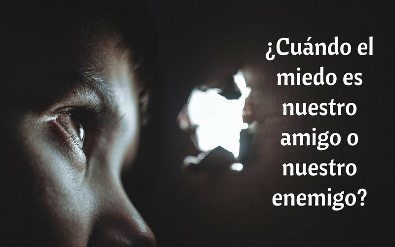 ¿Cuándo el miedo es nuestro amigo o nuestro enemigo?